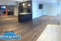 Beautiful Basement development project complete in Watermark for the Zhu family